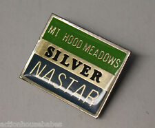Ski Pin Badge Skiing - NASTAR SILVER : MT HOOD MEADOWS - Oregon OR - Ski Resort