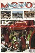 CHRONIQUES MOTO 53 GUZZI 125 Stornello MATCHLESS G15 INDIAN Prince 350 SCOTT 596