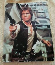 STAR WARS CALENDAR JANUARY 1997 HAN SOLO LUKE SKYWALKER HARRISON FORD