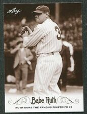 2016 Leaf Babe Ruth Collection #25 Ruth Dons the Famous Pinstripe #3