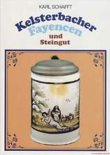 Fachbuch Kelsterbacher Fayencen und Steingut, viele Informationen, NEU