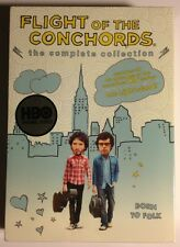 FLIGHT OF THE CONCHORDS - First & Second Seasons - MINT NEW SEALED DVDS!!