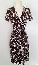 Diane Von Furstenberg New Julian Two, Floral Wrap Dress Sz6 NWT