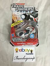 NEW Transformers Prime Robots in Disguise Deluxe Class Autobot Wheeljack 2DAYGET