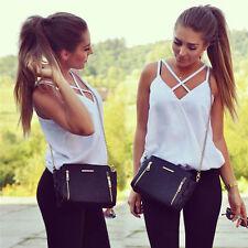 Summer Women Fashion Vest Top Sleeveless Shirts Blouse Casual Tank Tops T-Shirt