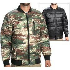 Men's Burton Parker Insulated Reversible Ski Snowboard Jacket Camo/True Black L