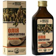 Amaranth seed Oil. Cold pressed. Squalene above 8%, 200ml. Agricultural producer