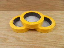 "3 QUALITY USA MADE 1"" Yellow Painters Masking Trim Edge Tape 180' 60 yd roll"