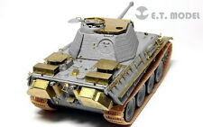 ET Model E72-010 1/72 WWII Panther G Anti-Aircraft Armour set for Dragon kit