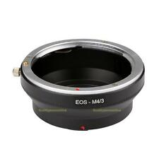 EOS-M4/3 for Canon EOS EF Mount Lens To Olympus Panasonic Micro 4/3 Adapter Ring