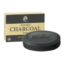3 Madina ACTIVATED CHARCOAL SOAP Toxins Acne Control Anti Aging