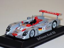 1/43 Minichamps Audi R8 Infineon car #1 24 Hours LeMans 2002 Dealer Edition