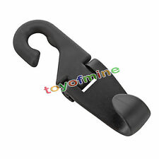 Portable Car Seat Headrest Coat Hook Purse Bag Hanging Hanger Organizer Holder