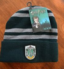 HARRY POTTER Slytherin House Beanie Hat Cap NEW Elope Costume Accessory