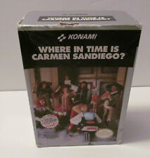Where in Time is Carmen Sandiego?  (Nintendo NES, 1991) CIB Complete Game