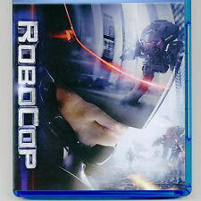 RoboCop 2014 PG-13 action movie Blu-ray G Oldman, M Keaton, S L Jackson, NO DVD
