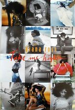 RARE DIANA ROSS TAKE ME HIGHER 1995 VINTAGE MUSIC RECORD STORE PROMO POSTER