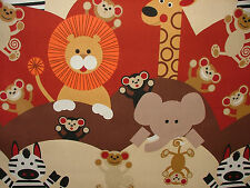 4m Prestigious Cheeky Monkey Spice Curtain Upholstery Quilting Childrens Fabric
