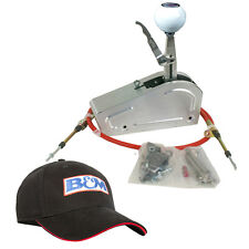 B&M 80704 Pro Stick Powerglide PG 2 Speed Race Shifter + Black Embroidered Hat