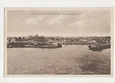 Docks & Capitania Buildings Lourenco Marques Vintage Postcard 487a