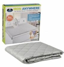 NEW IRON ANYWHERE IRONING MATS CAMPING TRAVEL EASY STORAGE FOLDABLE