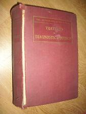 DOTT.GLENTWORT REEVE BUTLER - TRATTATO DI DIAGNOSTICA MEDICA - ANNO:1910 (EN)