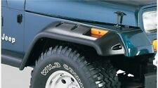 Bushwacker Cut-Out Front & Back Fender Flare Set 87-95 Jeep Wrangler YJ