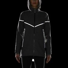 New NIKE WOMEN'S JACKET Size XS (UK 4-6) /WOOL REFLECTIVE/ running/ warm/winter