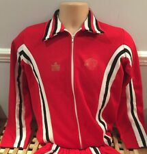 Original Official Manchester United Admiral Full Home Worn Tracksuit Players?