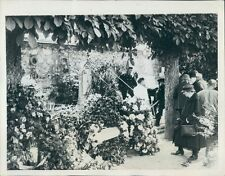 1934 Physicist Marie Curie Funeral Sceaux France Press Photo