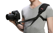 "GGS F4 FOTOSPEED Quick Release Camera Shoulder Strap w/ 1/4"" Screw Hook f/ DSLR"
