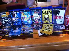 Scarface pistola Simpsons Hit & Run Gta Vice 007 Geta PS2 Playstation 2 Paquete De Juegos