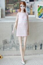 Momoko MMK Doll Outfit Pink Lace Dress
