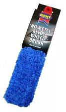 (Q4334) KENT CAR CARE MICRO FIBRE NO METAL ALLOY WHEEL BRUSH SAFE CLEANING