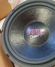 "NEW Old School Pyle Driver 10"" subwoofer,Rare,Vintage,MADE IN THE USA,NOS NIB"