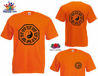 Bagua Symbol - FRUIT OF THE LOOM T-Shirt - Flexdruck - Various Colours