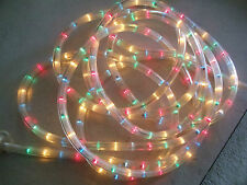 18 ft Flexible LED Strip Rope Lights, 40 Lights/M, 120V