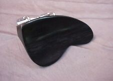 FINE EBONY VIOLIN CHINREST BERBER MODEL 4/4 chin rest