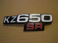 KAWASAKI KZ650SR, KS650SR D1,   SIDE COVER BADGE NEW REPRODUCTION
