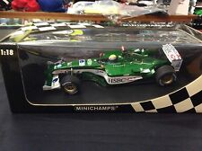 MARK WEBBER JAGUAR R4 2003 MINICHAMPS 1:18 EXCELLENT CONDITION
