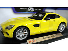 Maisto Mercedes Benz AMG GT 1:18 Diecast Model Car Yellow