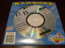 CHARTBUSTER 6+6 KARAOKE DISC 20244 PAUL BRANDT CD+G COUNTRY MULTIPLEX
