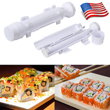 Perfect Sushi Roll Maker Kit Rice Roller Mold Mould Chef Kitchen DIY Set USA