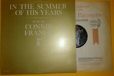 IN THE SUMMER OF HIS YEARS Sung By CONNIE FRANCIS  MGM 1964 -Kennedy Child Study