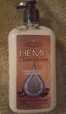 Moist Hemp Cocoa Butter Silky Body Lotion Cream Moisturizer - 18 oz / 530 ml