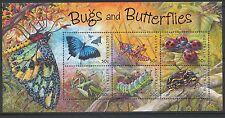 Australian Stamps: 2003 Bugs & Butterflies - Minisheet