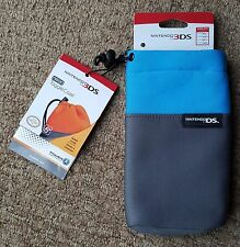 Blue Padded Case Cover Bag for Nintendo 3DS XL 3DS DS lite DSi DS XL New 3DS