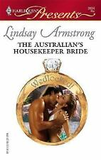 Armstrong, Lindsay .. The Australian's Housekeeper Bride