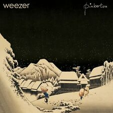 "WEEZER ""PINKERTON"" LP EDITION LIMITEE VINYLE BLEU / POCHETTE POP-OUT NEUF"