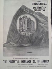 The Prudential Insurance Co of America Newark New Jersey 1896 Harper's Weekly